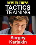 Tactics Training – Sergey Karjakin: How to improve your Chess with Sergey Karjakin and become a Chess Tactics Master 9789056916916