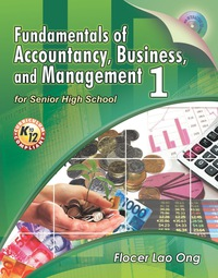 Fundamentals Of Accountancy Business And Management 1 1st Edition