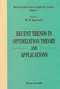 Recent Trends In Optimization Theory And Applications 9789812798862