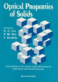 Optical Properties of Solids 9789814539142