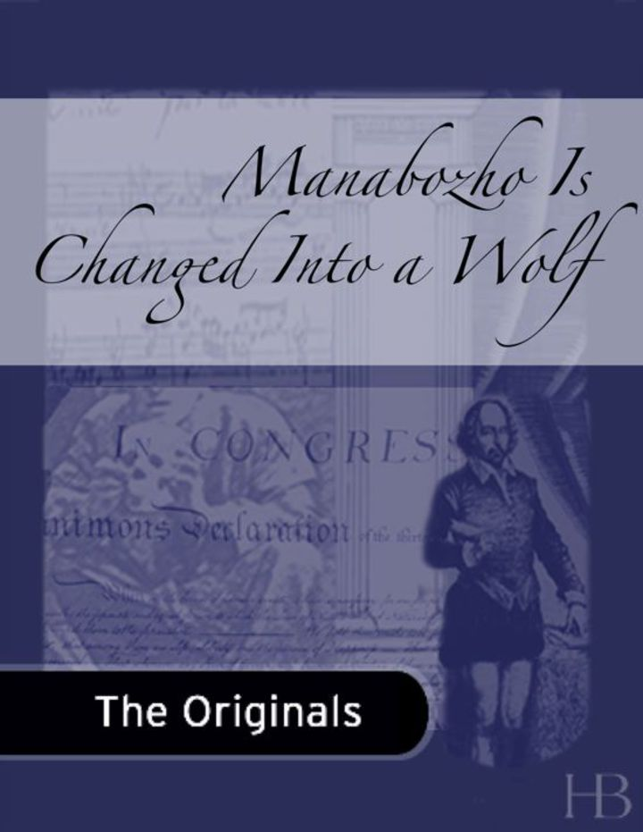 Manabozho Is Changed Into a Wolf