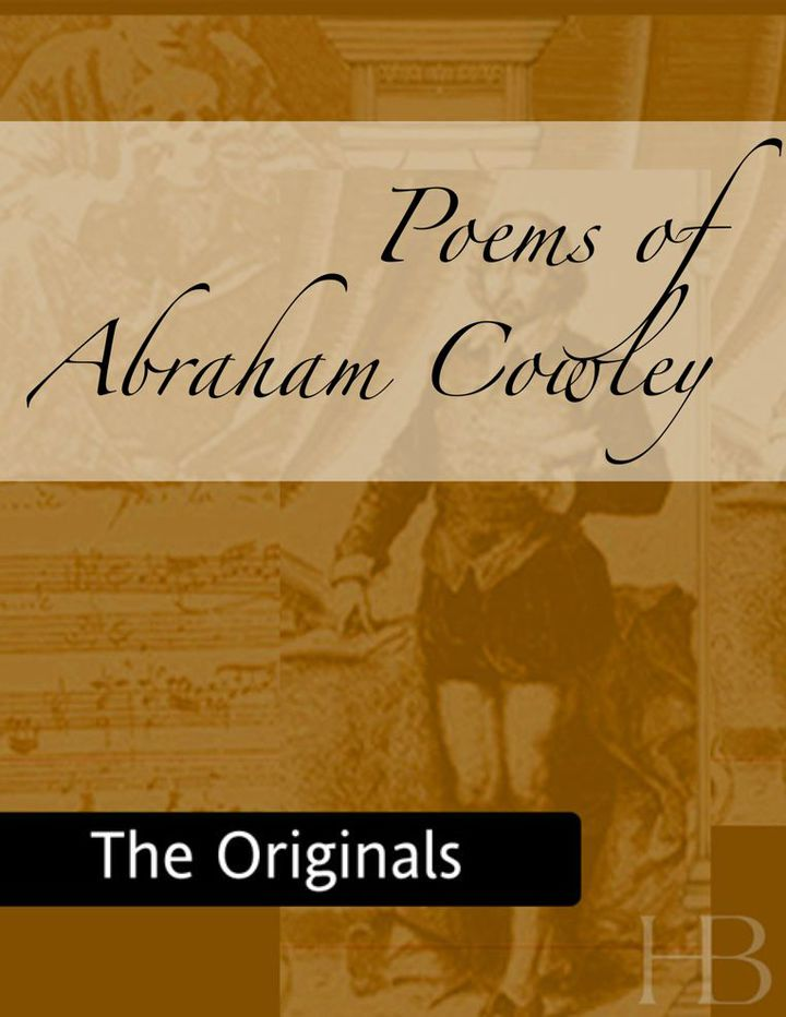 Poems of Abraham Cowley