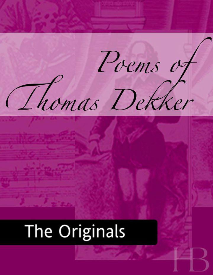 Poems of Thomas Dekker