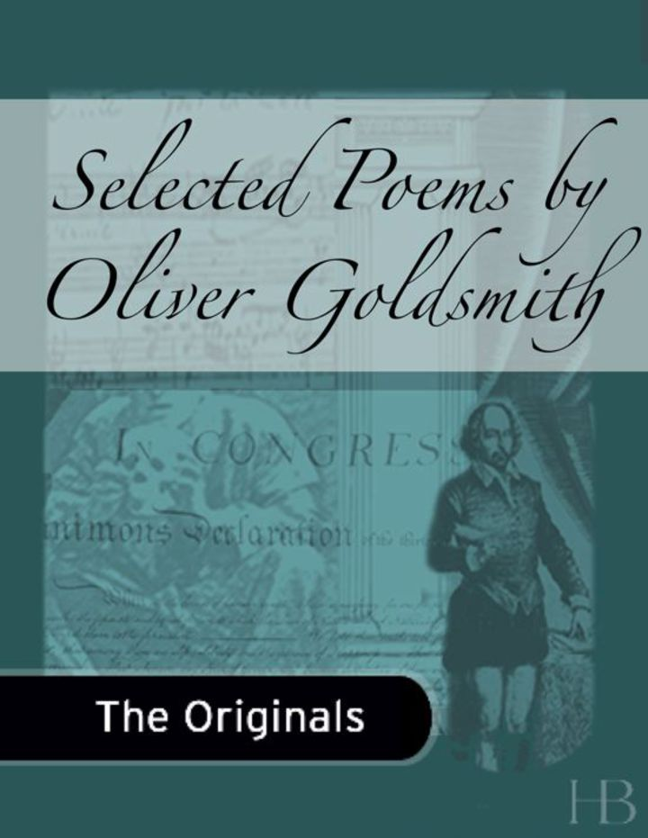 Selected Poems by Oliver Goldsmith