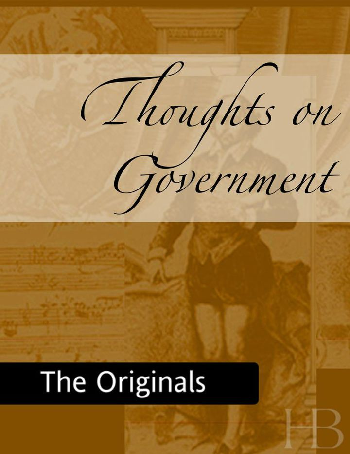 Thoughts on Government