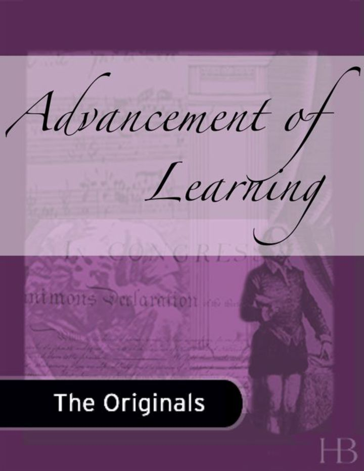 Advancement of Learning