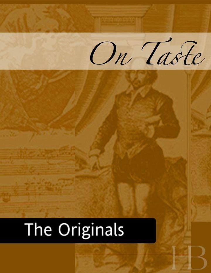 On Taste