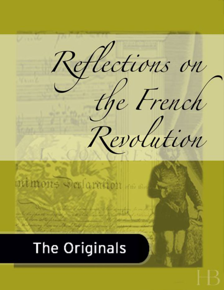 Reflections on the French Revolution