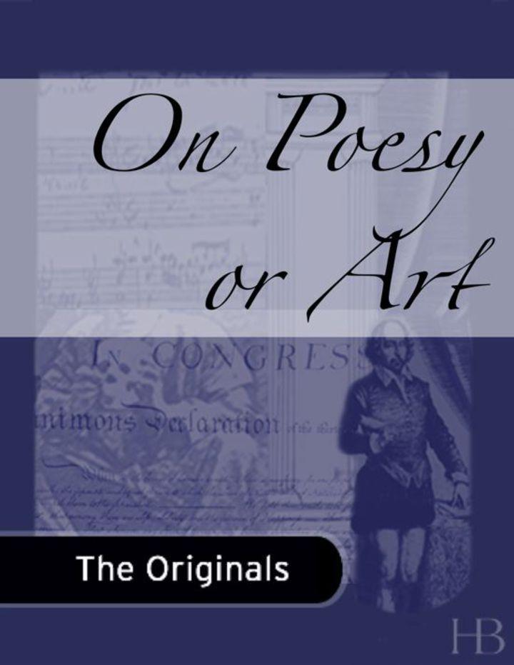 On Poesy or Art