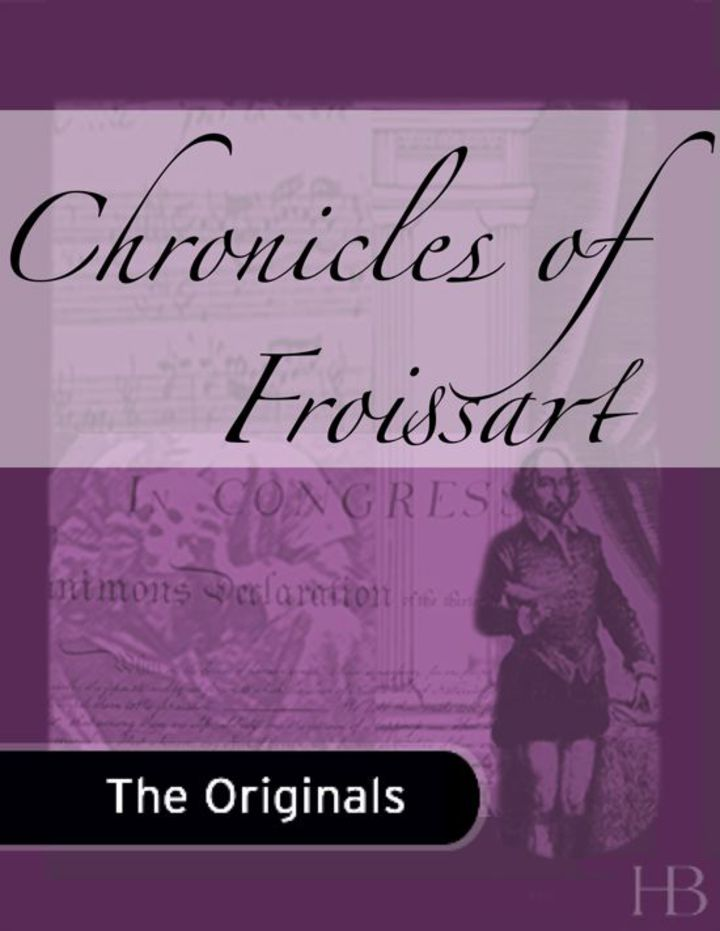 Chronicles of Froissart