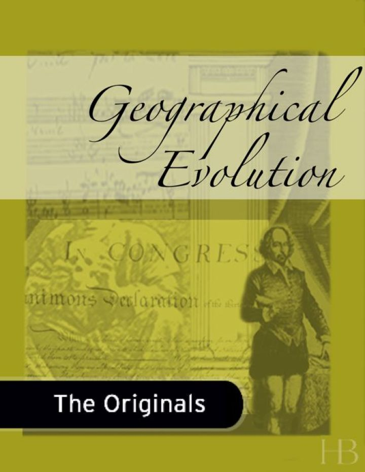 Geographical Evolution