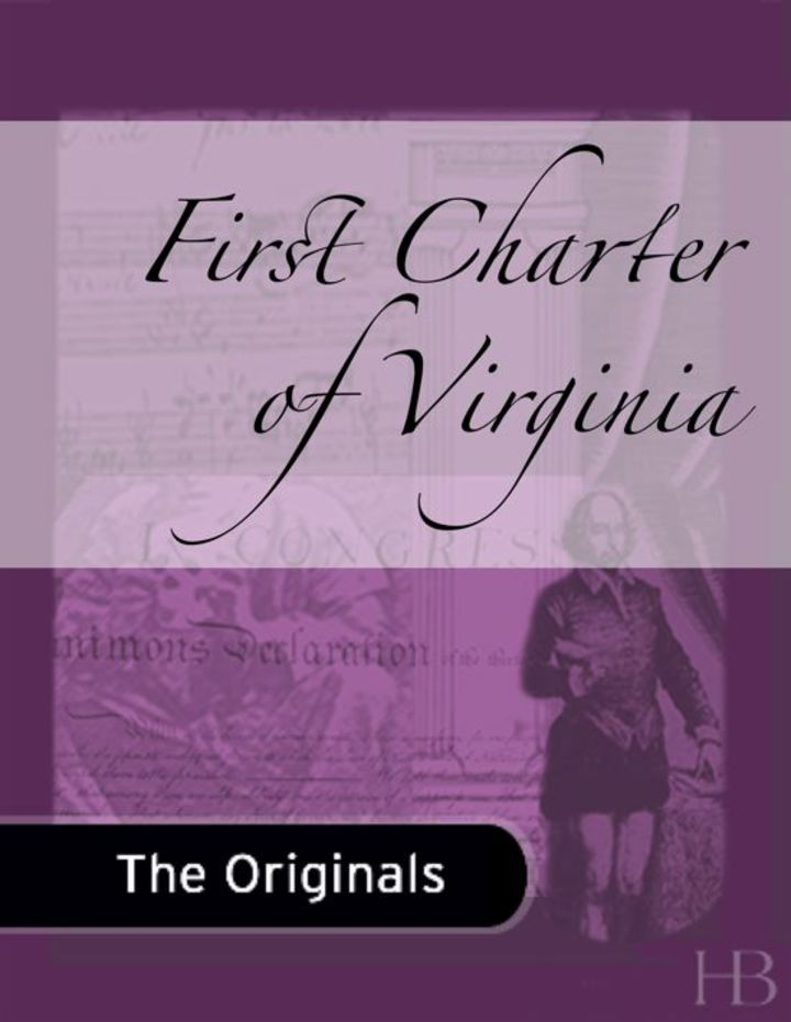 First Charter of Virginia