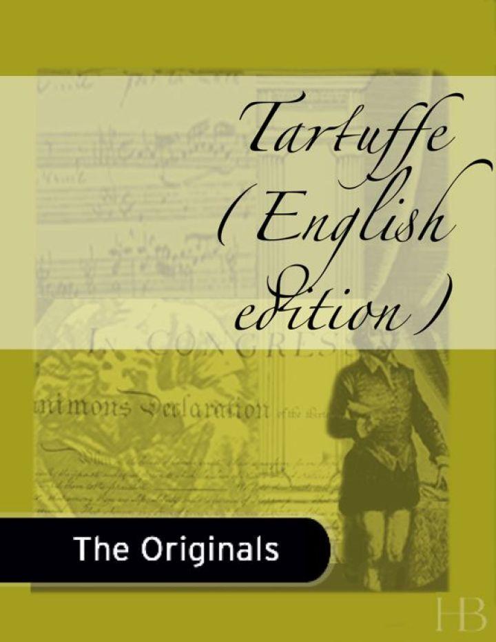 Tartuffe (English edition)