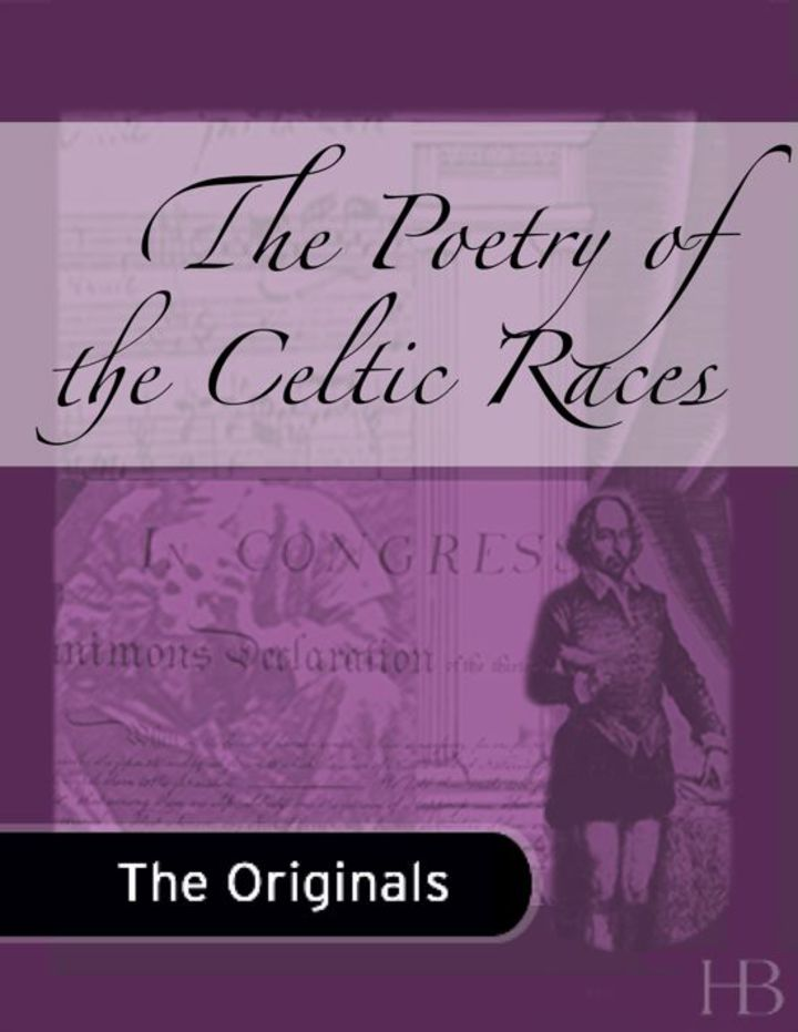 The Poetry of the Celtic Races