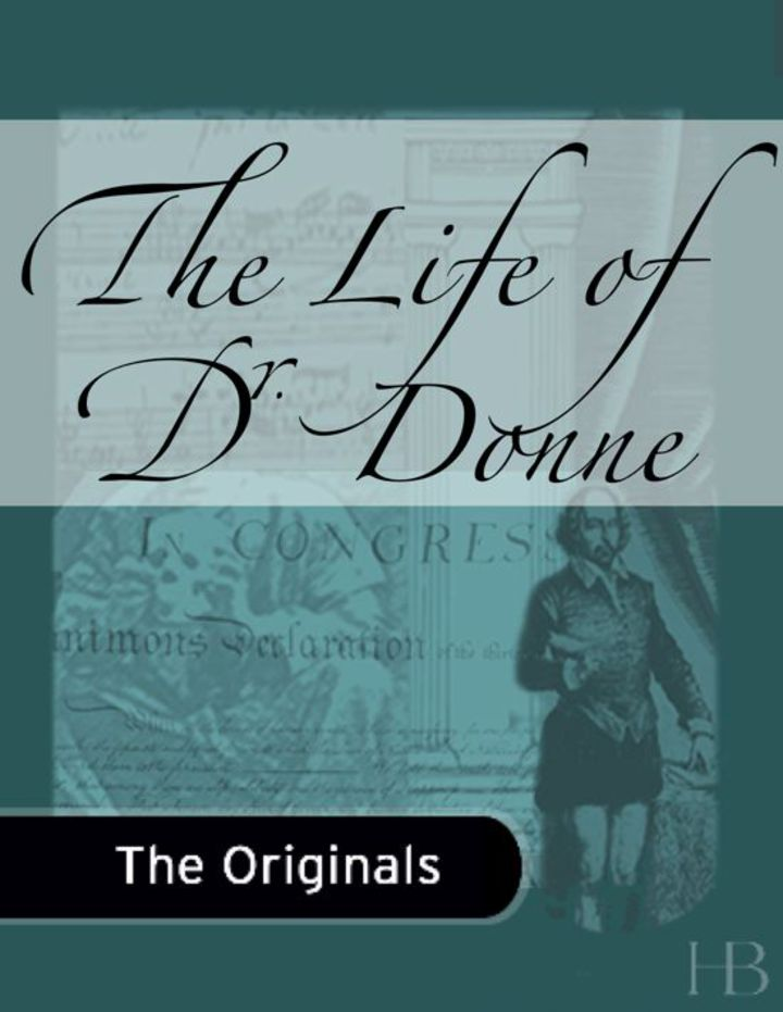 The Life of Dr. Donne