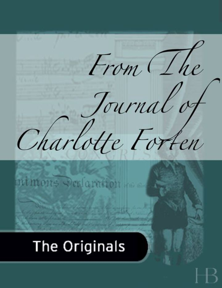 From The Journal of Charlotte Forten