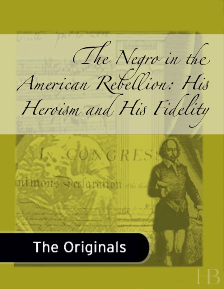 The Negro in the American Rebellion: His Heroism and His Fidelity