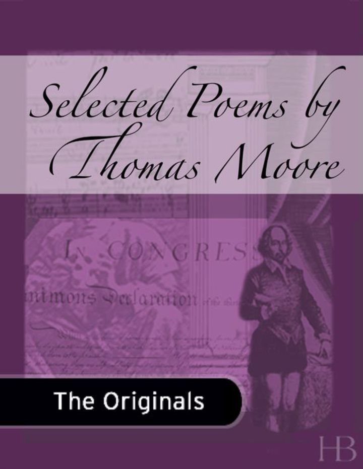 Selected Poems by Thomas Moore