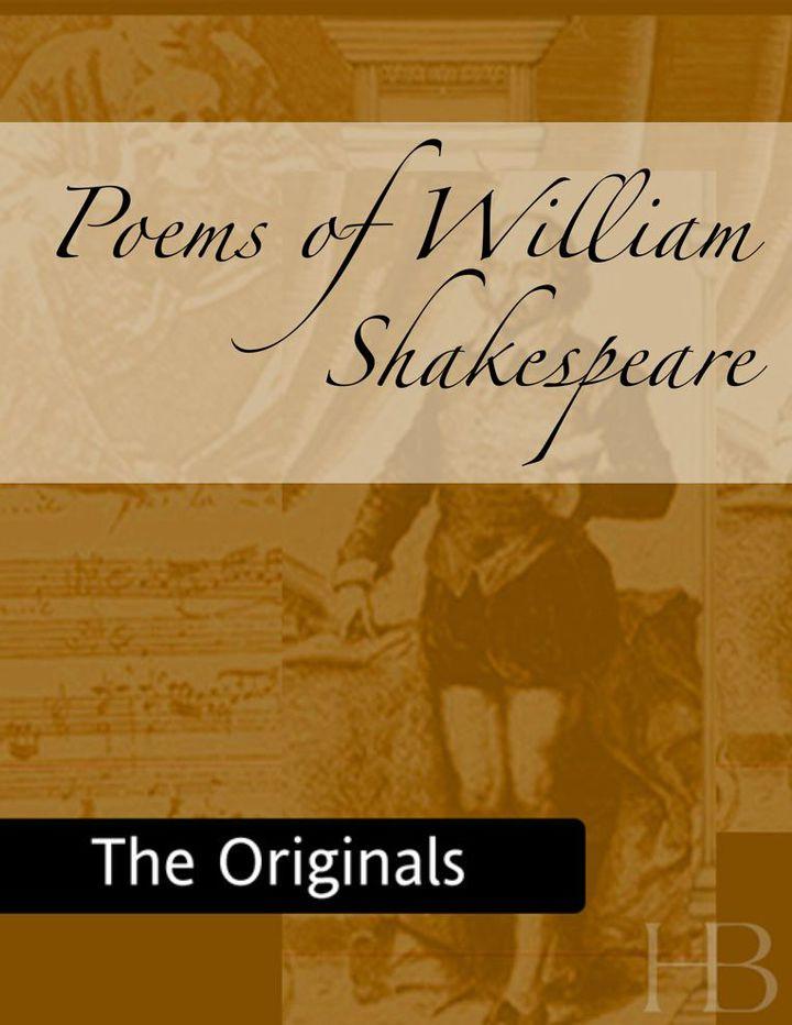 Poems of William Shakespeare