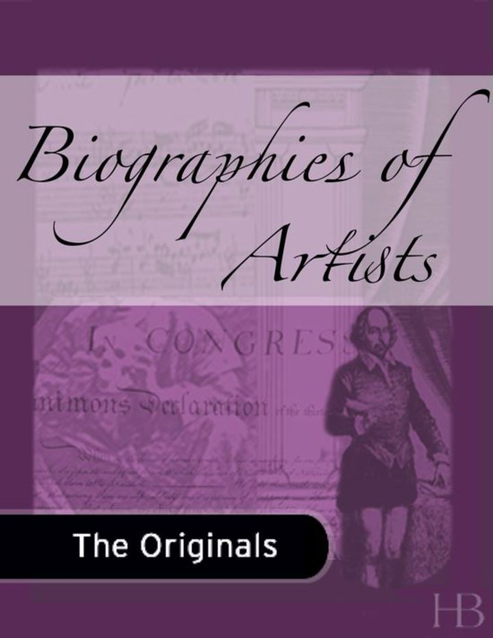 Biographies of Artists