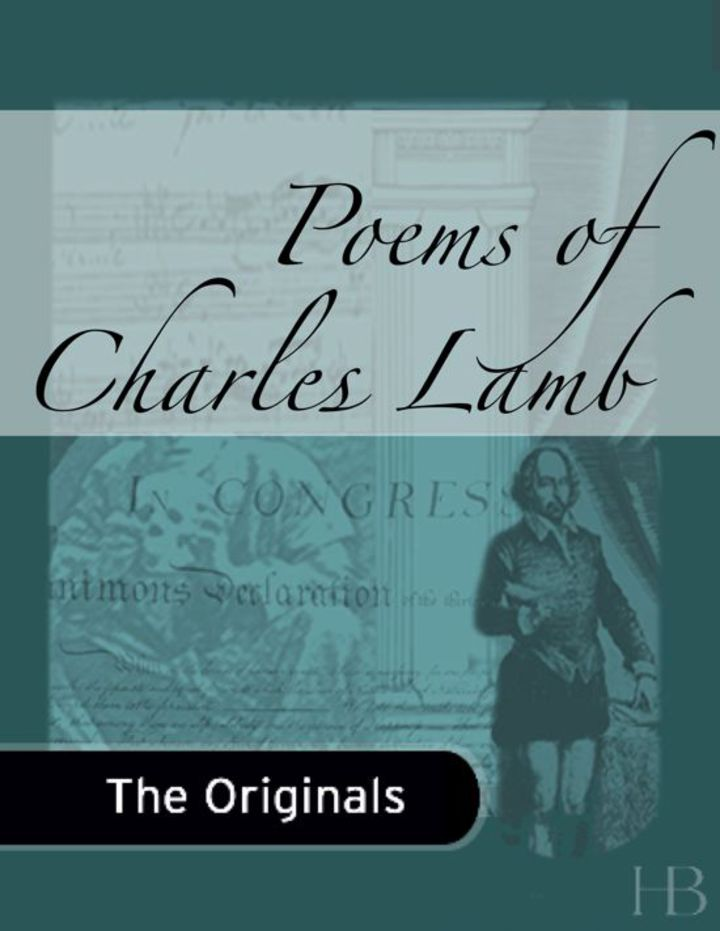 Poems of Charles Lamb