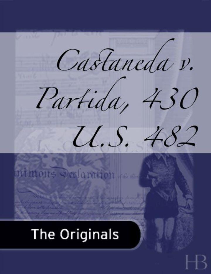 Castaneda v. Partida, 430 U.S. 482