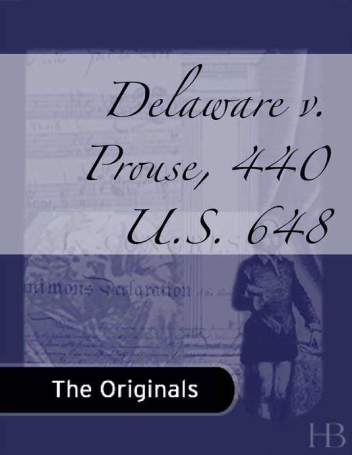 Delaware v. Prouse, 440 U.S. 648