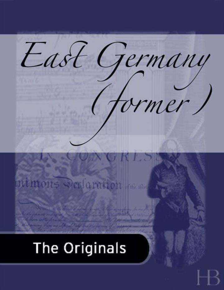 East Germany (former)