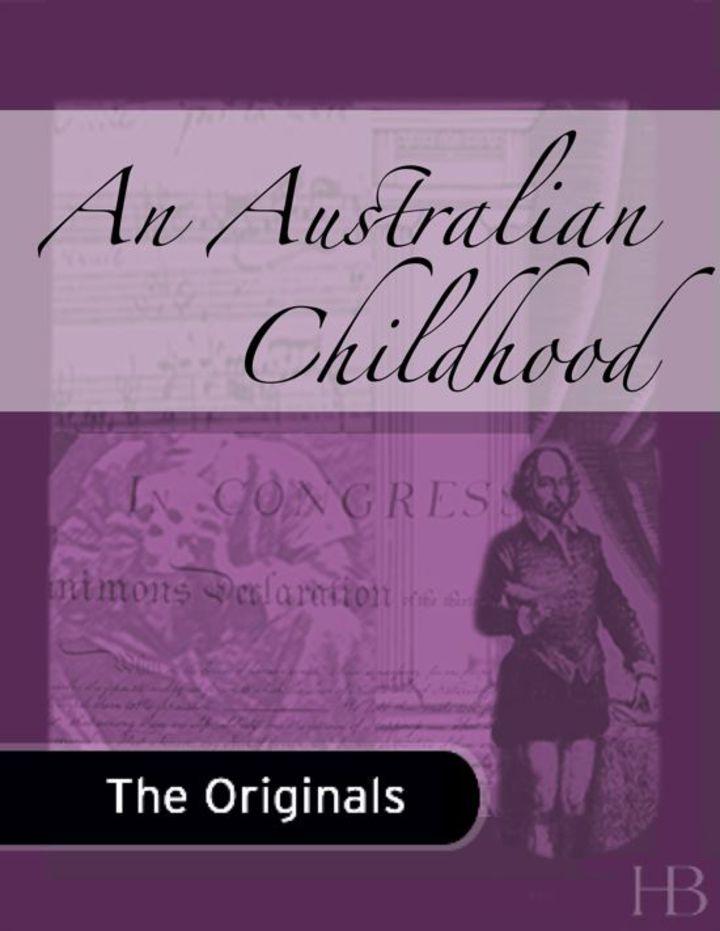 An Australian Childhood