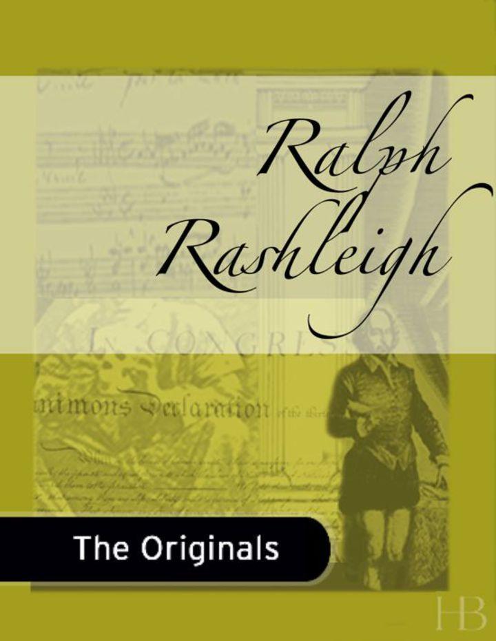 Ralph Rashleigh