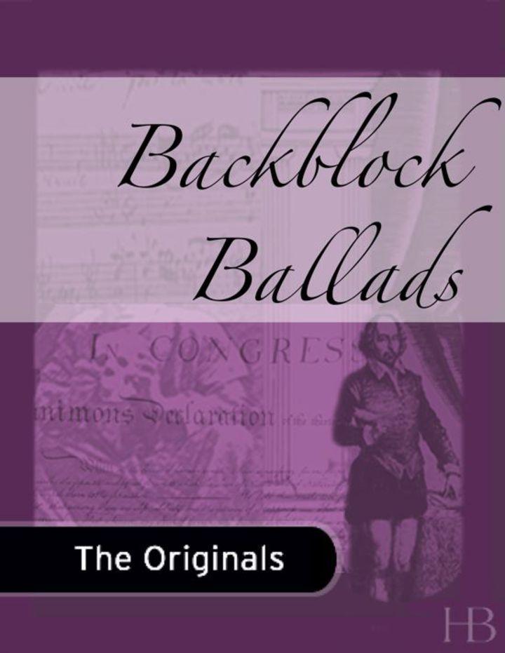 Backblock Ballads