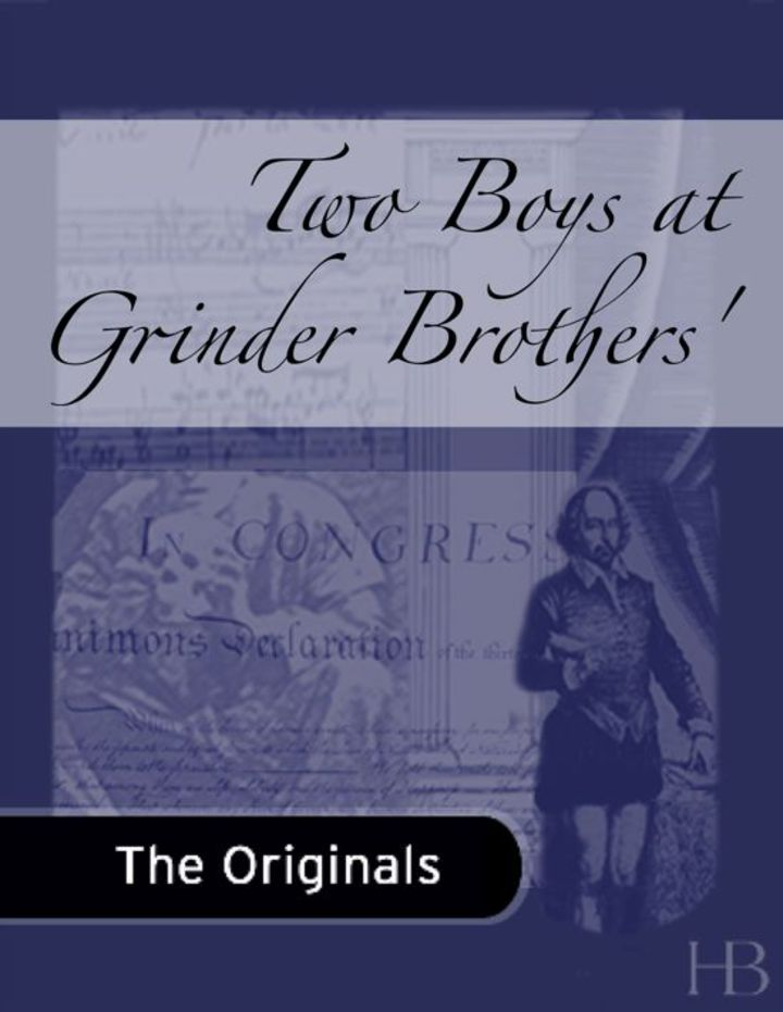 Two Boys at Grinder Brothers'
