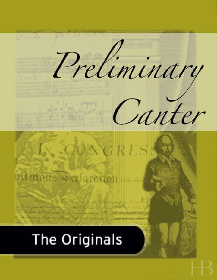 Preliminary Canter