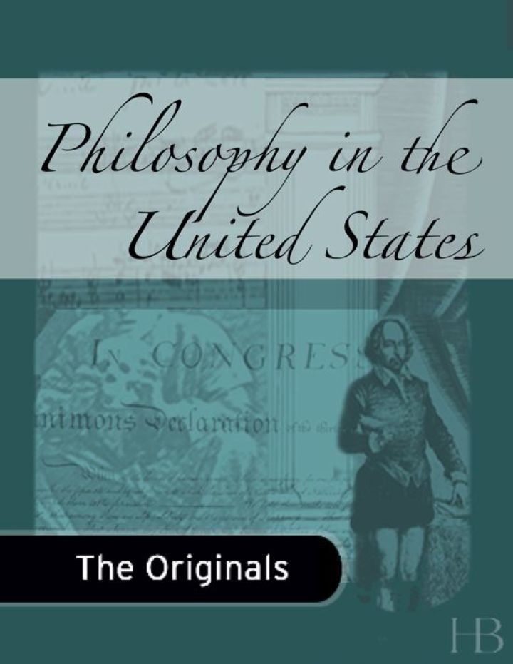 Philosophy in the United States