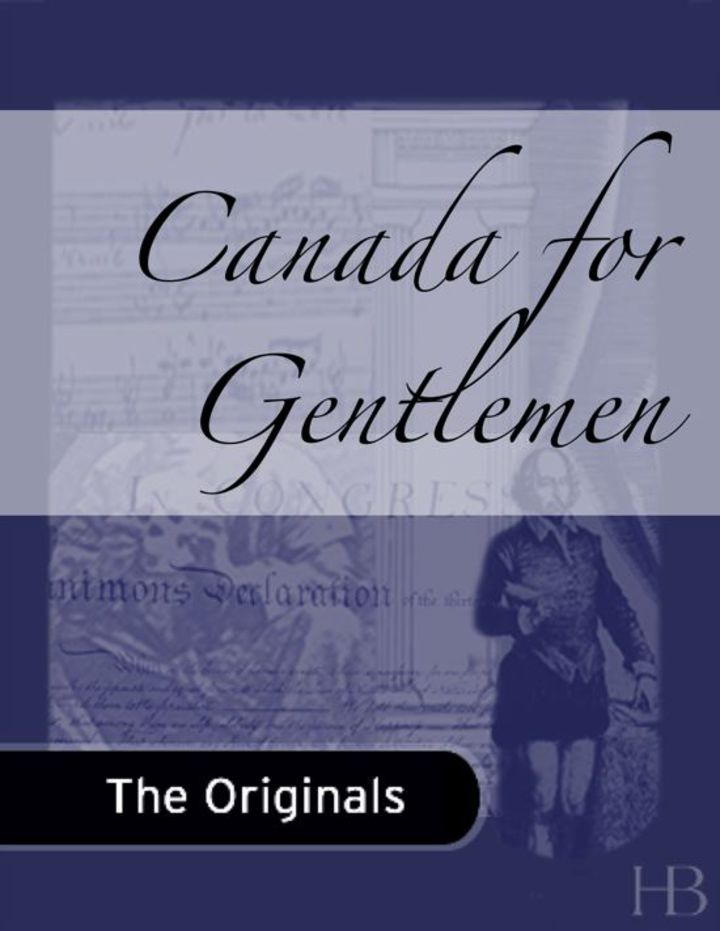 Canada for Gentlemen