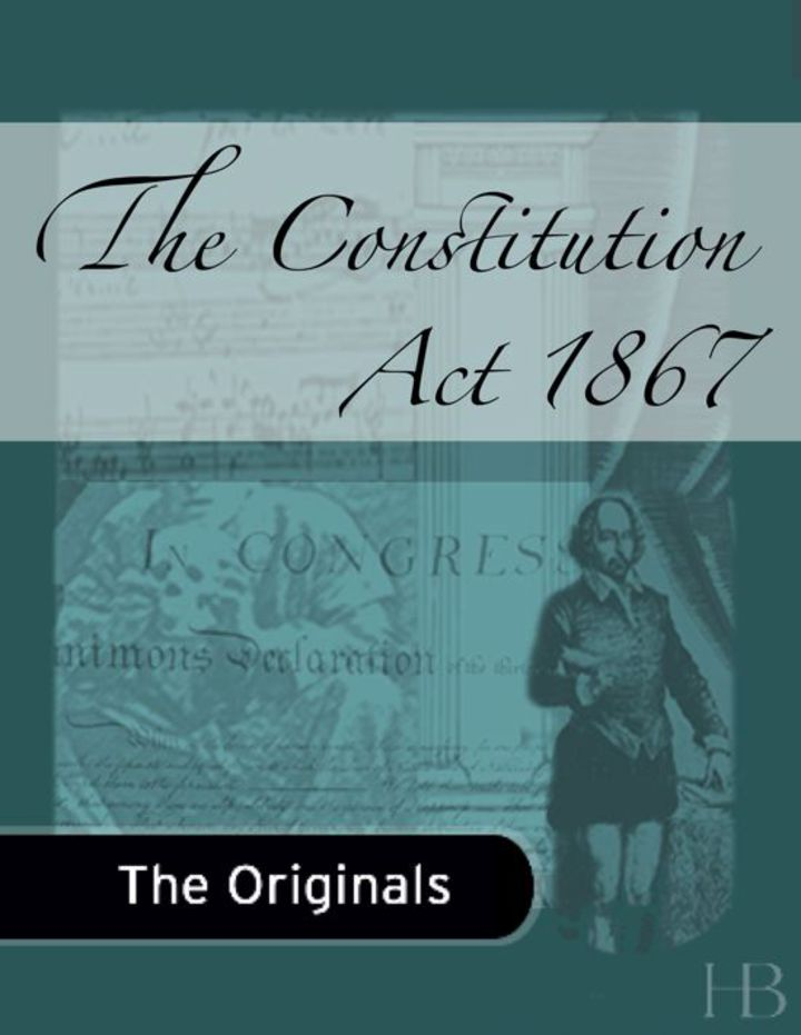 The Constitution Act of 1867