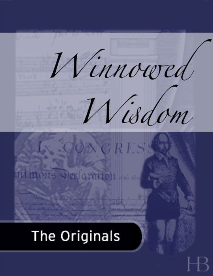 Winnowed Wisdom