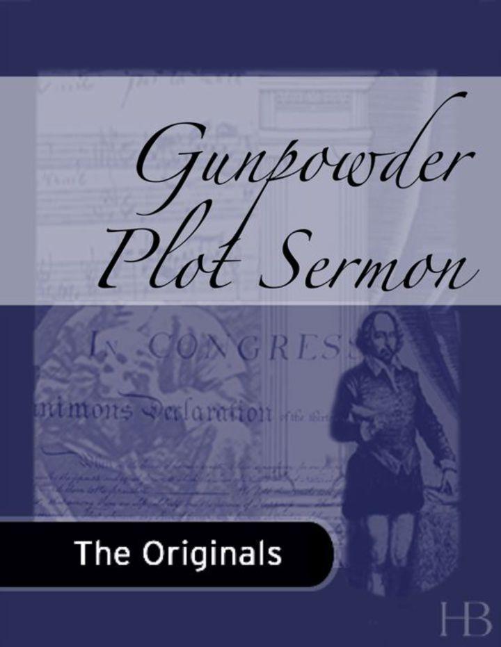 Gunpowder Plot Sermon