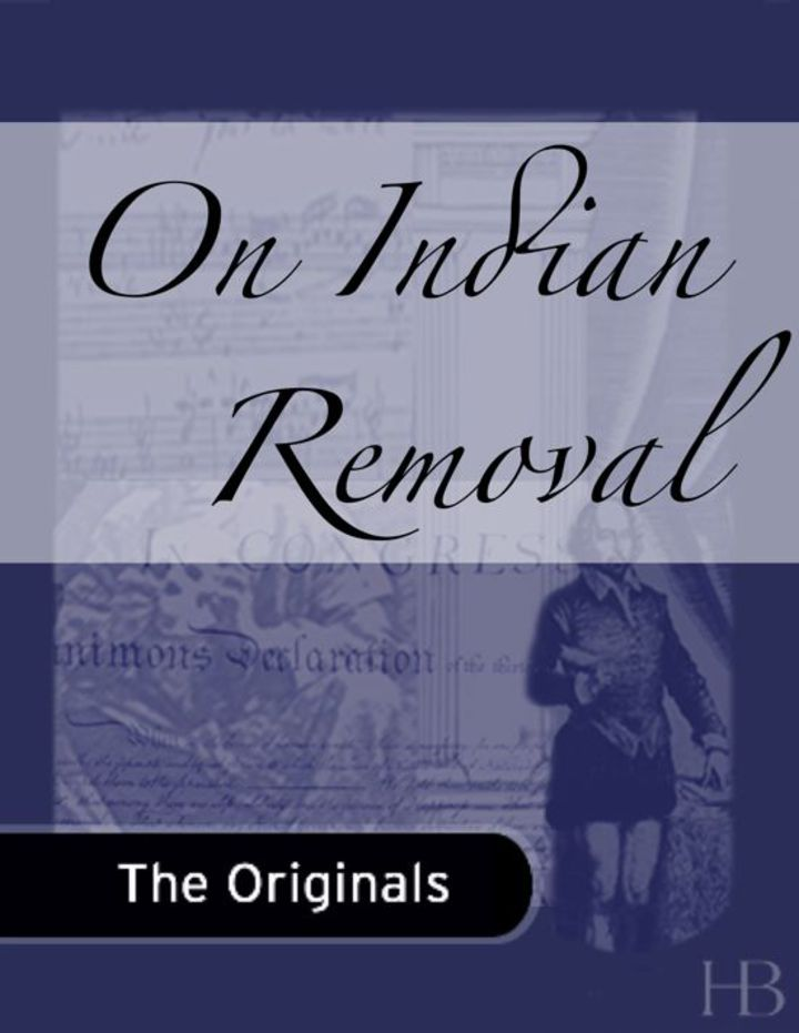 On Indian Removal
